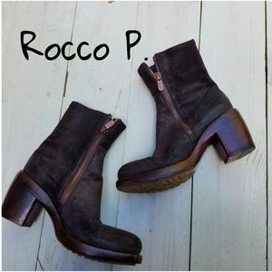 Rocco P. Leather ankle boots